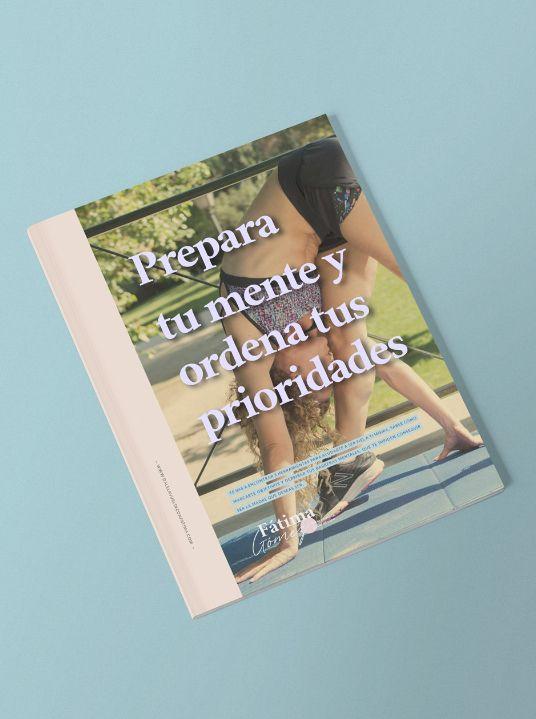 Ebook Prepara tu mente con Fátima Gómez